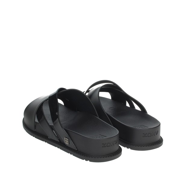 Zaxy Shoes Clogs Black 17831