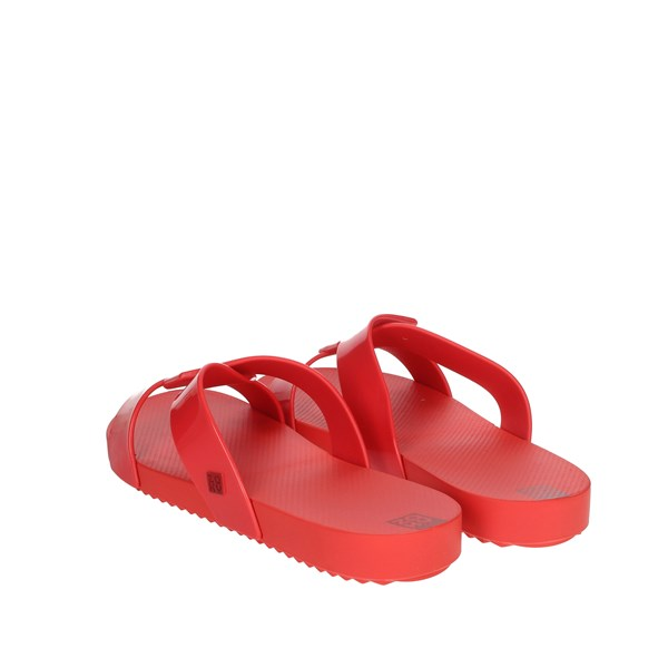 Zaxy Shoes Clogs Red 17830