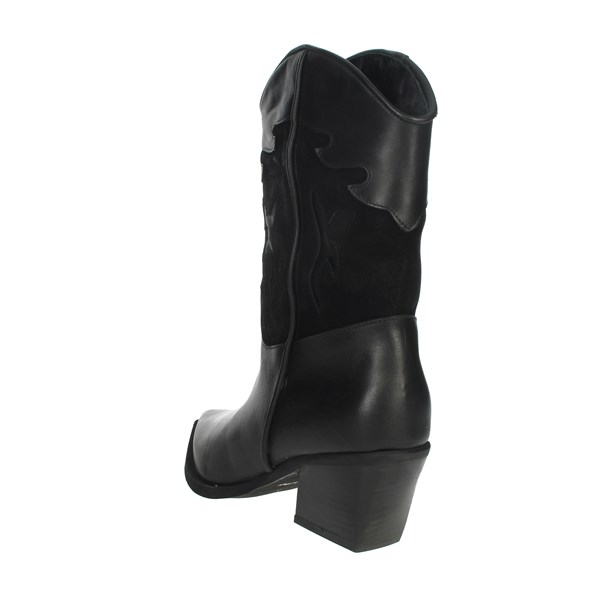 Marlena Shoes Boots Black MT01