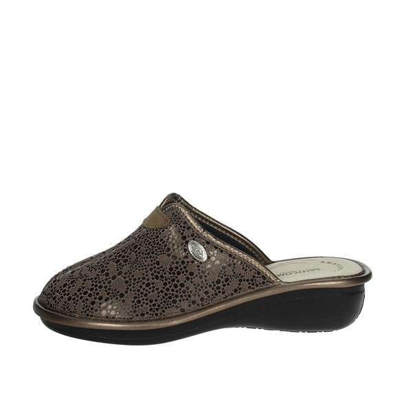 Sanycom Shoes Clogs Brown Taupe 165