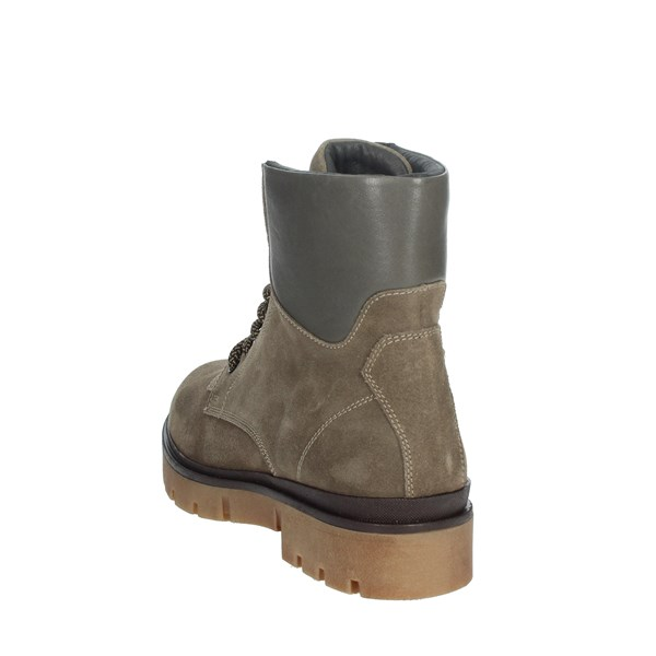 Nina Capri Shoes Boots Brown Taupe IC-62