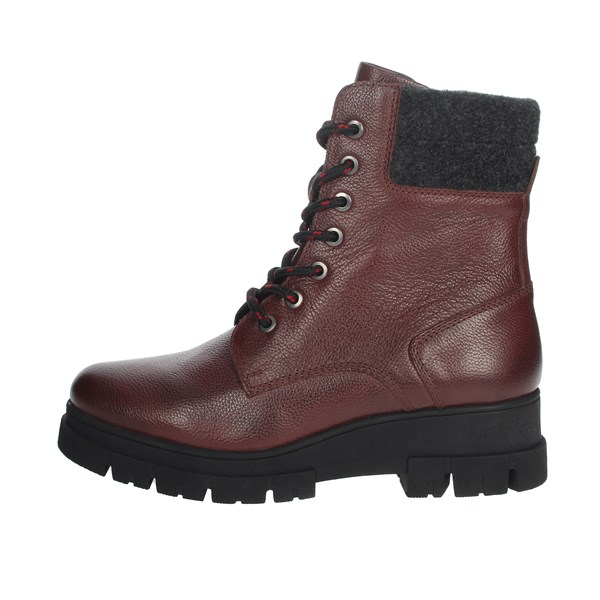 Riposella Shoes Boots Burgundy IC-61