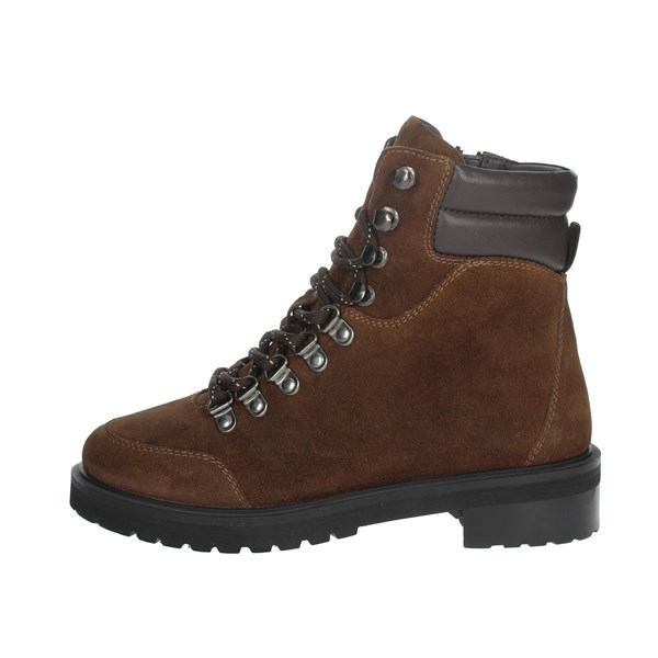 Riposella Shoes Boots Brown leather IC-80
