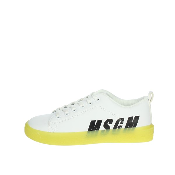 Msgm Shoes Sneakers White 022764