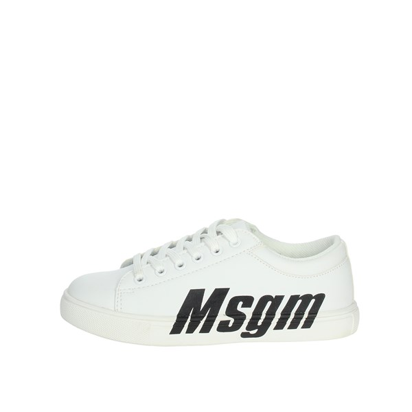Msgm Shoes Sneakers White 022763