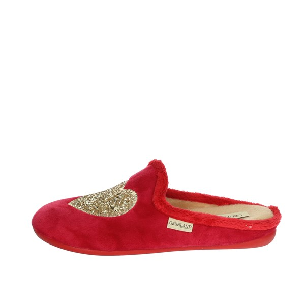 Grünland Shoes Clogs Red CI2940-B2
