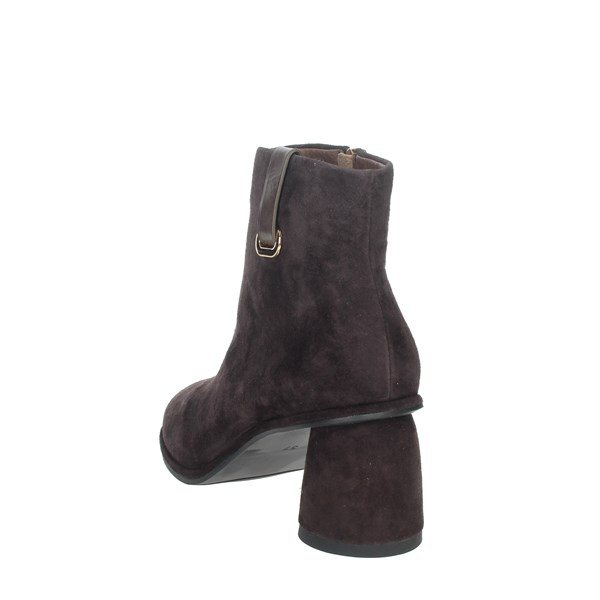 Nina Capri Shoes Ankle Boots Brown IC-140