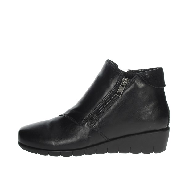 Cinzia Soft Shoes Ankle Boots Black IV14138-AMR