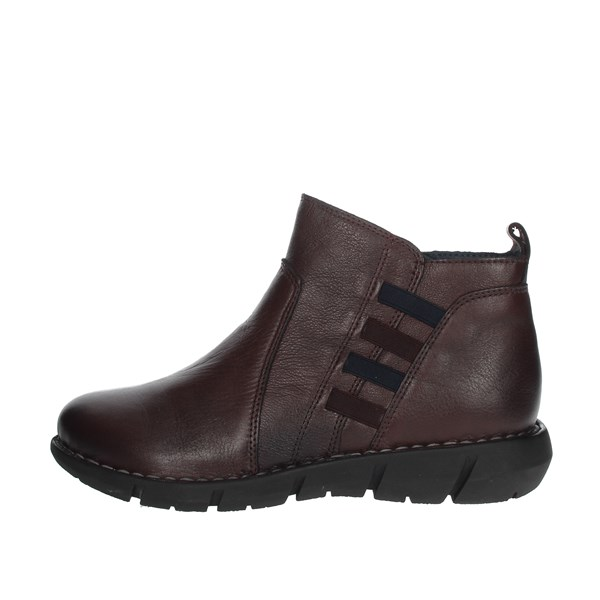 Cinzia Soft Shoes Ankle Boots Burgundy IV12036-NS