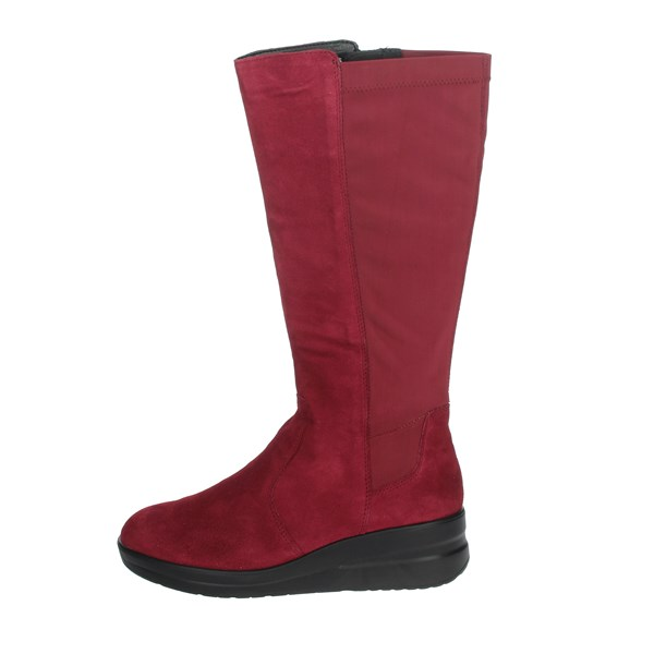Cinzia Soft Shoes Ankle Boots Burgundy IV13907-GSL