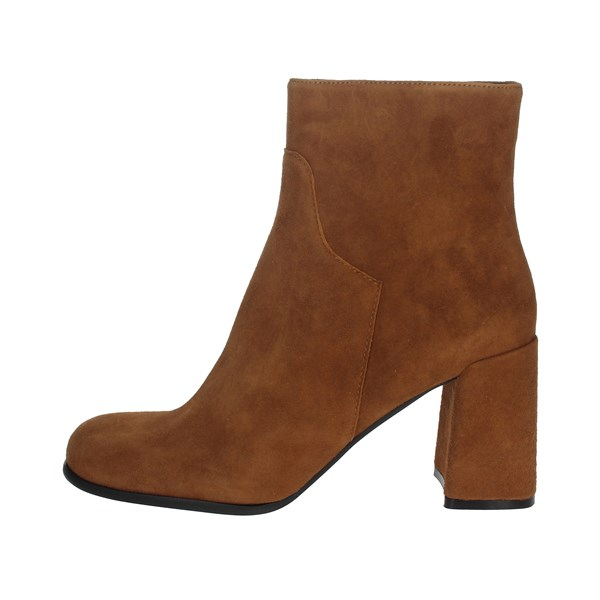 Pregunta Shoes Ankle Boots Brown leather PFC9490