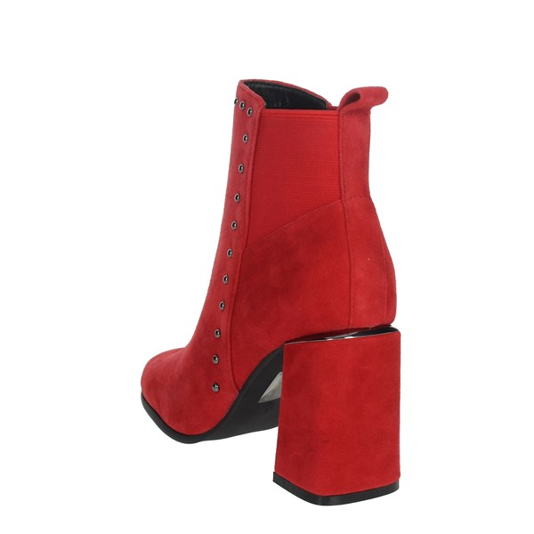 Pregunta Shoes Ankle Boots Red PFC9481