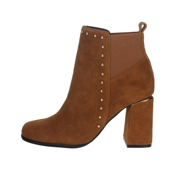 Pregunta Shoes Ankle Boots Brown leather PFC9481