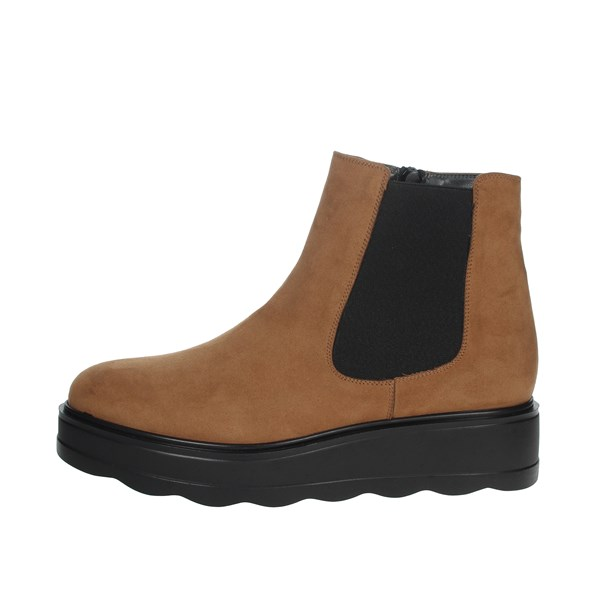 Cinzia Soft Shoes Ankle Boots Brown leather IAB753724