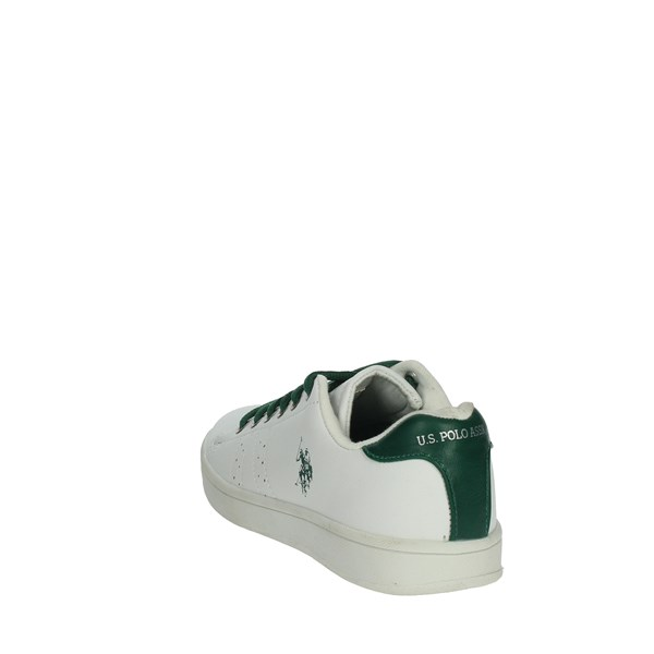 U.s. Polo Assn Shoes Sneakers White/Green ECROK4214S8/Y1