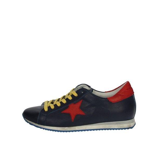 Daniele Alessandrini Shoes Sneakers Blue DA3SH053J
