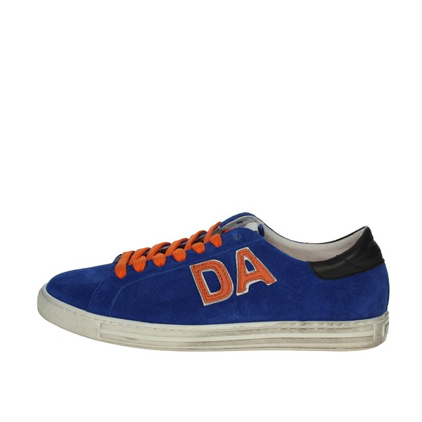 Daniele Alessandrini Shoes Sneakers Blue Avio DA3SH25