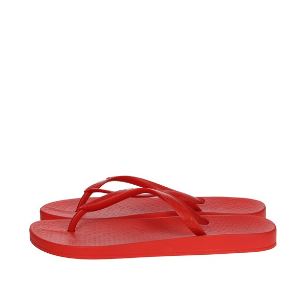 Ipanema Shoes Flip Flops Red 82591