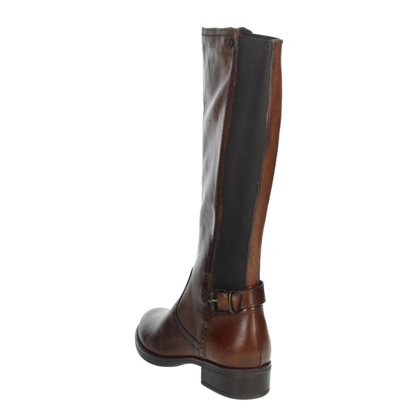 Riposella Shoes Boots Brown leather 00F