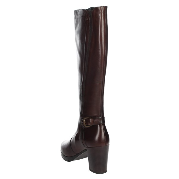 Riposella Shoes Boots Brown leather 00D