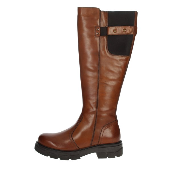 Riposella Shoes Boots Brown leather 00B