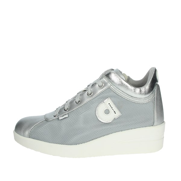 Agile By Rucoline  Shoes Sneakers Silver 226-20