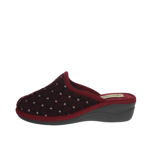 Riposella Shoes Clogs Burgundy P-412