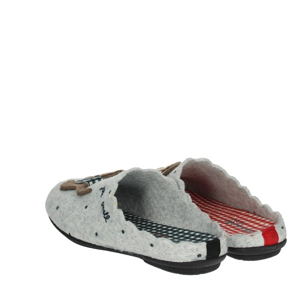 Riposella Shoes Clogs Grey P-372