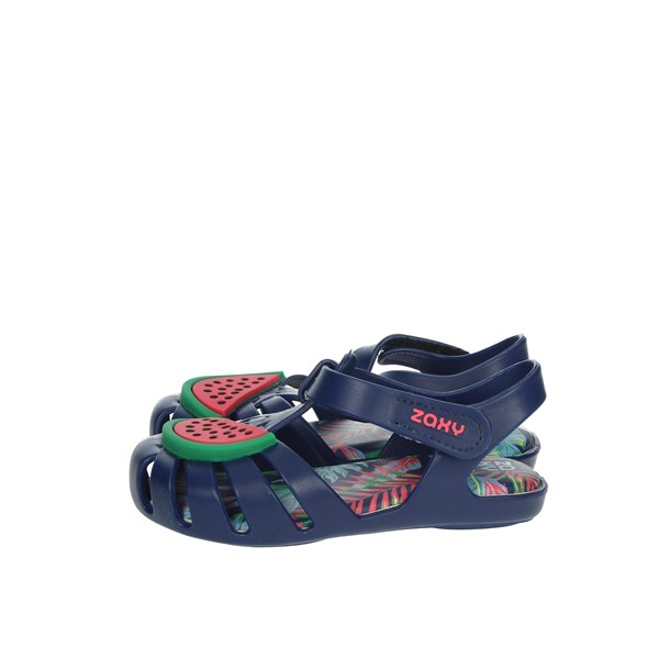 Zaxy Shoes Sandal Blue 82863