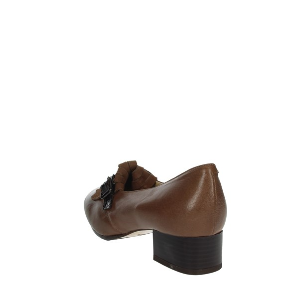 Sanagens Shoes Moccasin Brown Taupe SANAGENS-13