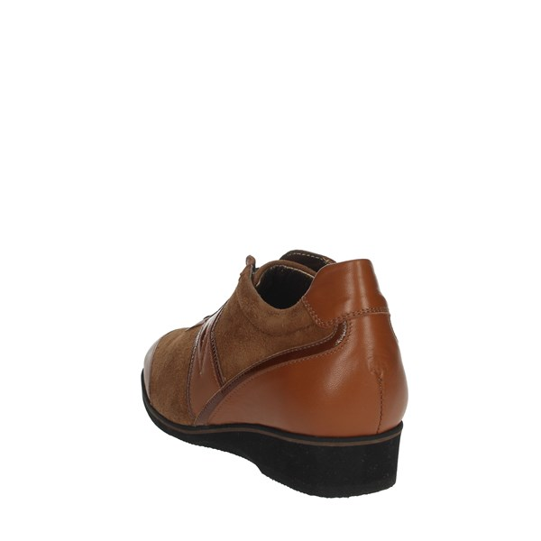 Sanagens Shoes Comfort Shoes  Brown leather SANAGENS-18