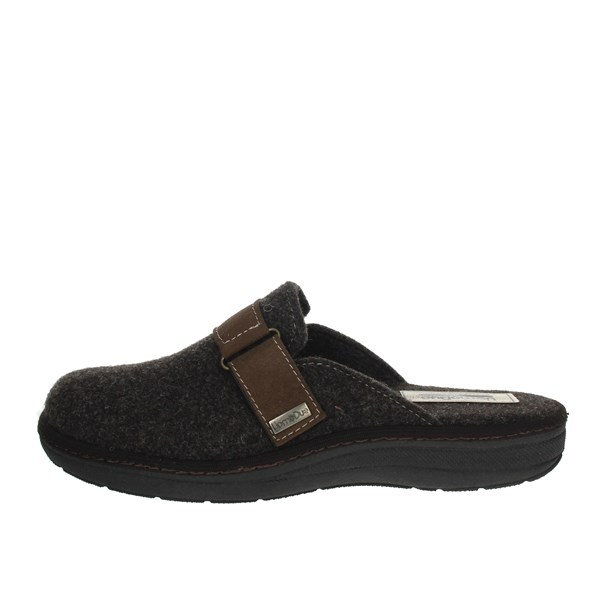 Uomodue Shoes Clogs Brown STRAPPO-7