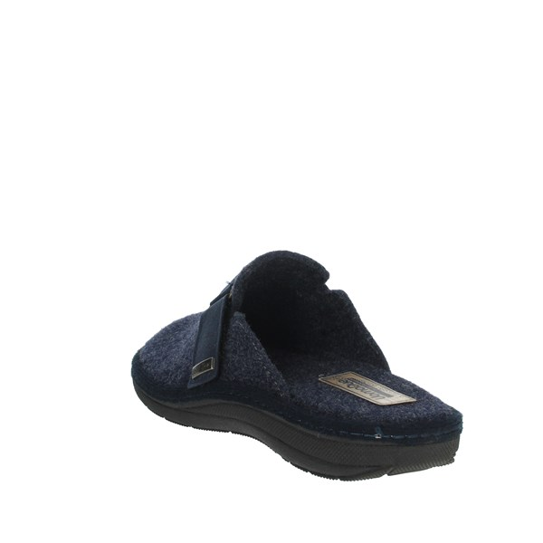 Uomodue Shoes Clogs Blue STRAPPO-8