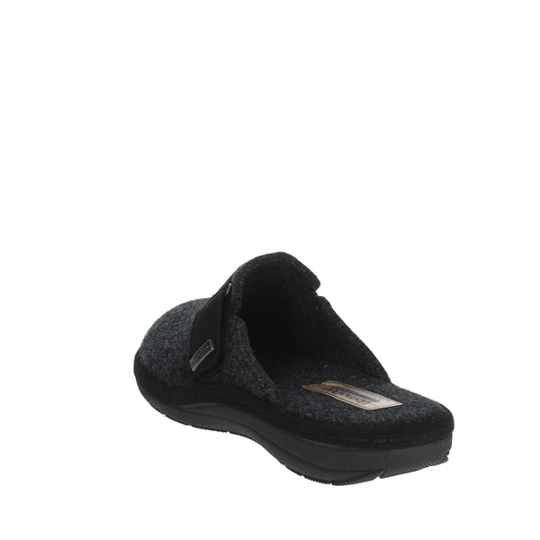 Uomodue Shoes Clogs Charcoal grey STRAPPO-9