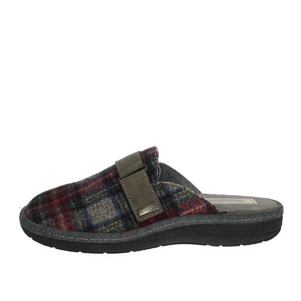 Uomodue Shoes Clogs Grey SCOZZESE-23