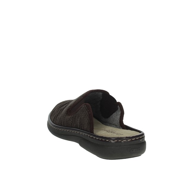 Uomodue Shoes Clogs Brown MICRO PUNTATO-30