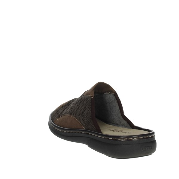Uomodue Shoes Clogs Brown MICRO PANNO-62