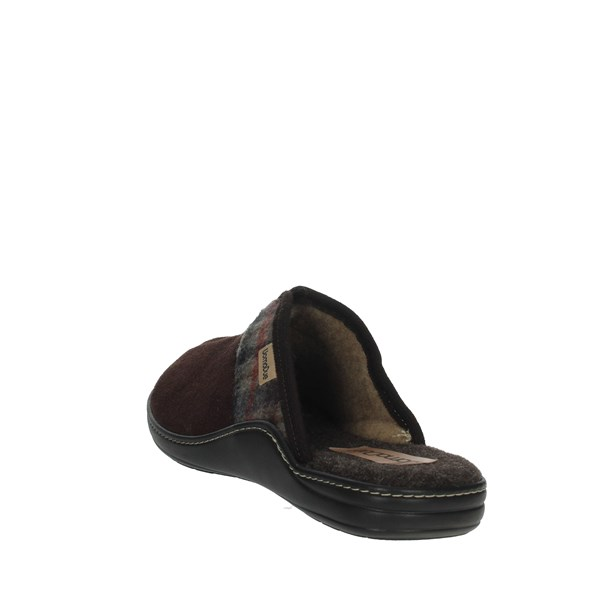 Uomodue Shoes Clogs Brown PANNO  SCOZZESE-64