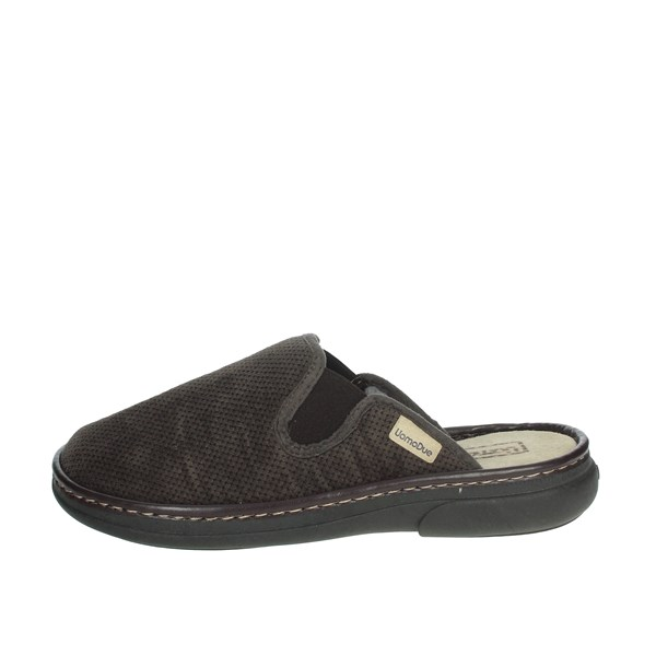 Uomodue Shoes Clogs Brown MICRO PANNO-68