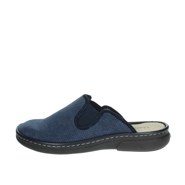 Uomodue Shoes Clogs Blue MICRO PANNO-69