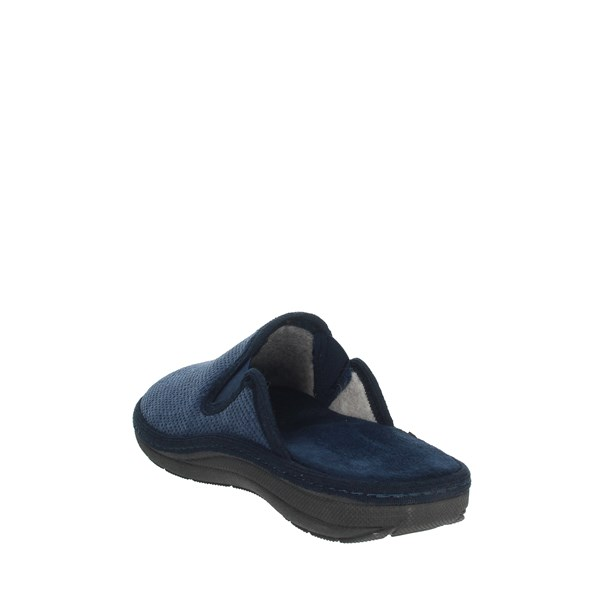 Uomodue Shoes Clogs Blue MICRO PANNO-70