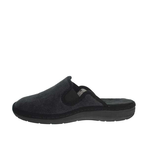 Uomodue Shoes Clogs Black MICRO PANNO-71
