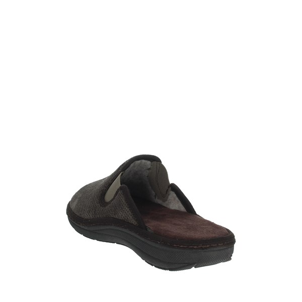 Uomodue Shoes Clogs Brown MICRO PANNO-72