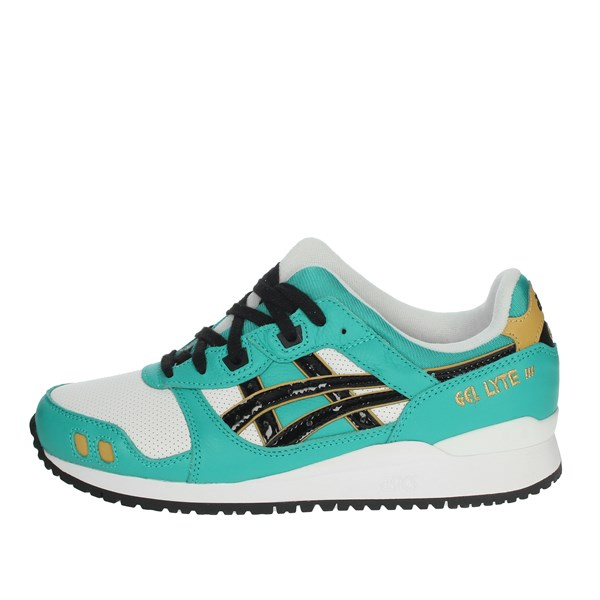 Asics Shoes Sneakers White/Green 1201A180