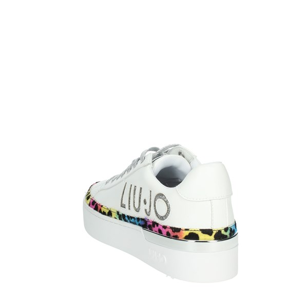 Liu-jo Shoes Sneakers White SILVIA 22