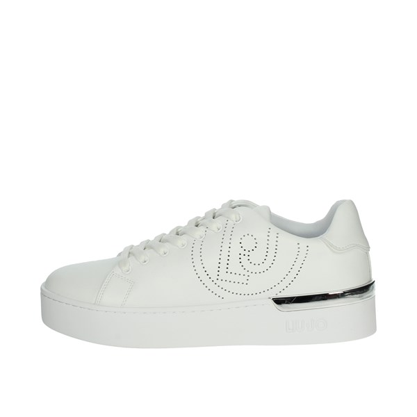 Liu-jo Shoes Sneakers White SILVIA 33