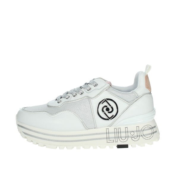 Liu-jo Shoes Sneakers White MAXI WONDER