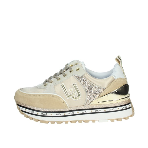 Liu-jo Shoes Sneakers Beige MAXI WONDER