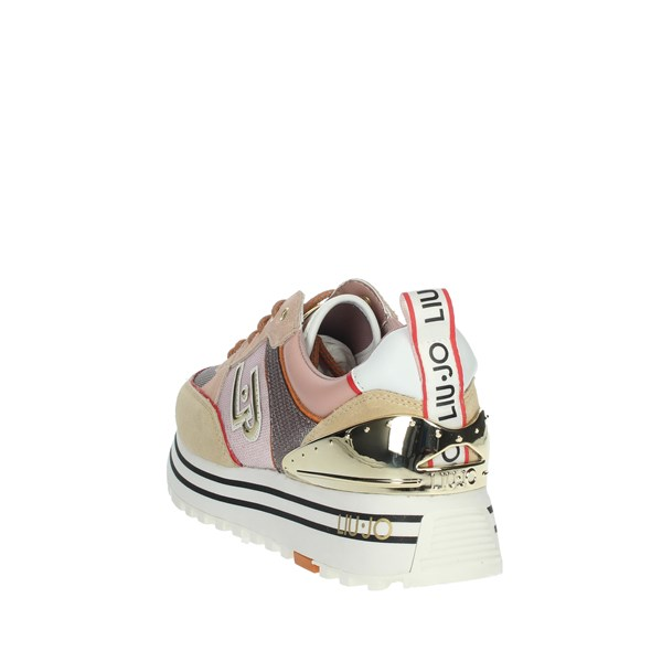 Liu-jo Shoes Sneakers Light dusty pink MAXI WONDER