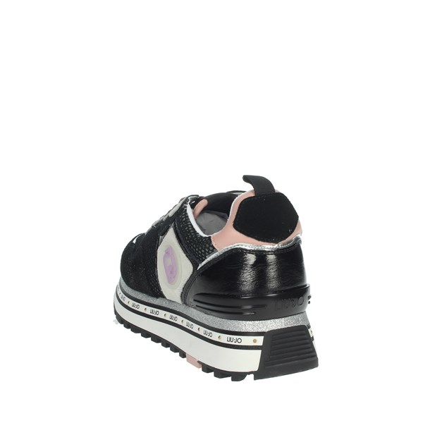Liu-jo Shoes Sneakers Black MAXI WONDER